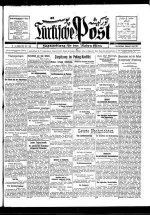 Türkische Post vom 09.04.1927