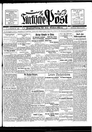 Türkische Post vom 10.04.1927