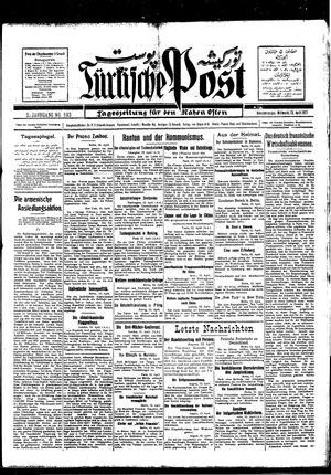 Türkische Post vom 13.04.1927