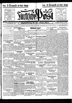 Türkische Post vom 14.04.1927
