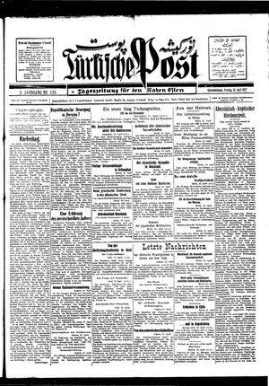 Türkische Post on Apr 15, 1927