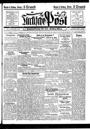 Türkische Post vom 17.04.1927