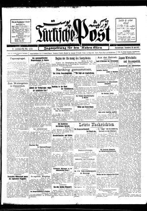 Türkische Post vom 30.04.1927