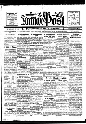 Türkische Post on May 2, 1927