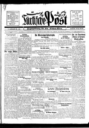 Türkische Post vom 03.05.1927