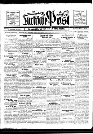 Türkische Post vom 04.05.1927
