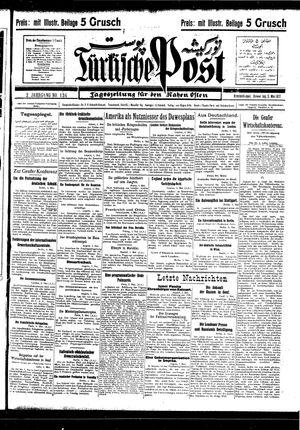 Türkische Post on May 5, 1927