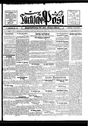 Türkische Post vom 06.05.1927