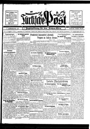 Türkische Post vom 07.05.1927