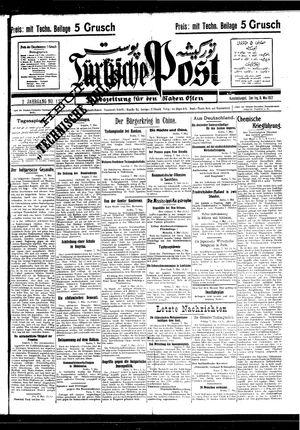 Türkische Post vom 08.05.1927