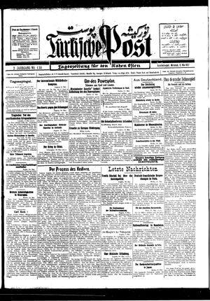Türkische Post vom 11.05.1927