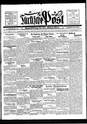 Türkische Post vom 13.05.1927