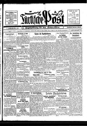 Türkische Post vom 19.05.1927