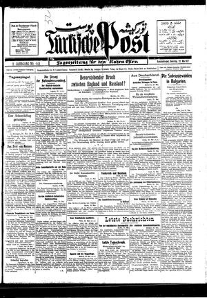 Türkische Post vom 22.05.1927