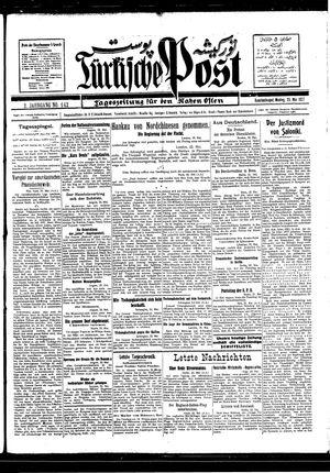 Türkische Post vom 23.05.1927