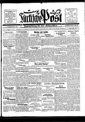 Türkische Post vom 24.05.1927