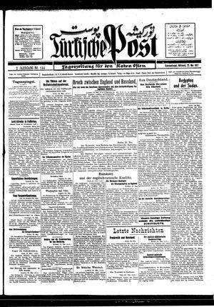 Türkische Post vom 25.05.1927