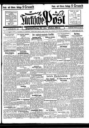 Türkische Post vom 26.05.1927