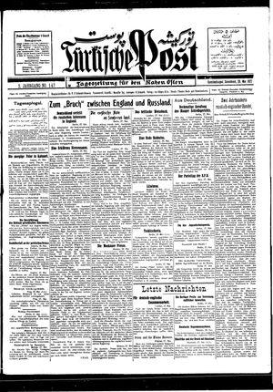 Türkische Post vom 28.05.1927