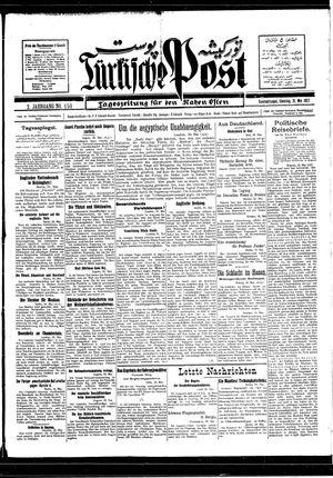 Türkische Post vom 31.05.1927