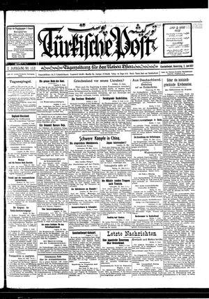 Türkische Post vom 02.06.1927