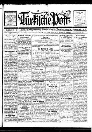 Türkische Post vom 03.06.1927