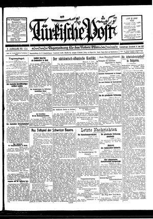 Türkische Post vom 04.06.1927