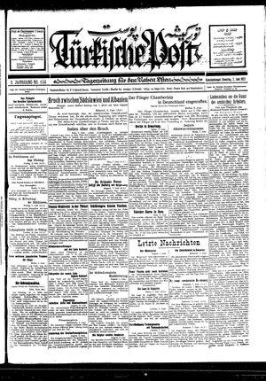 Türkische Post vom 07.06.1927