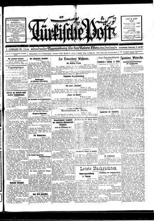 Türkische Post vom 09.06.1927