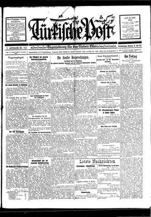 Türkische Post vom 14.06.1927