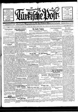 Türkische Post vom 15.06.1927