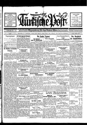 Türkische Post vom 16.06.1927
