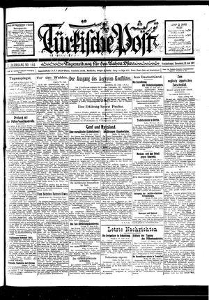 Türkische Post vom 18.06.1927