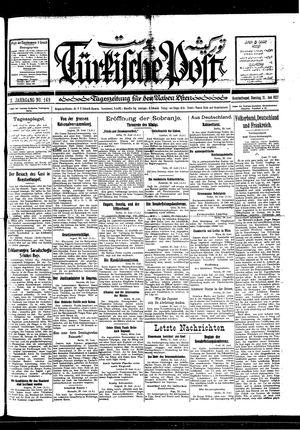 Türkische Post on Jun 21, 1927