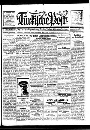 Türkische Post vom 22.06.1927
