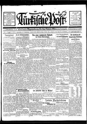 Türkische Post vom 23.06.1927