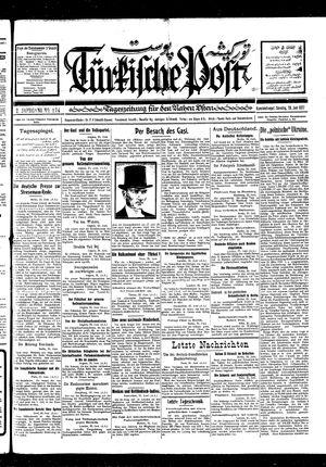 Türkische Post vom 26.06.1927