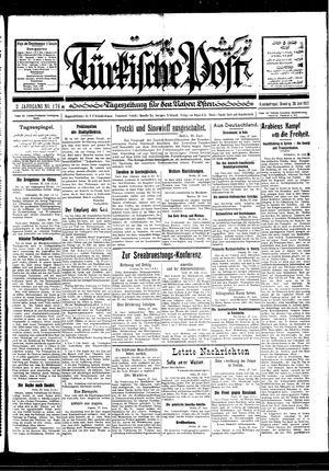 Türkische Post vom 28.06.1927