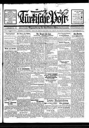 Türkische Post vom 30.06.1927