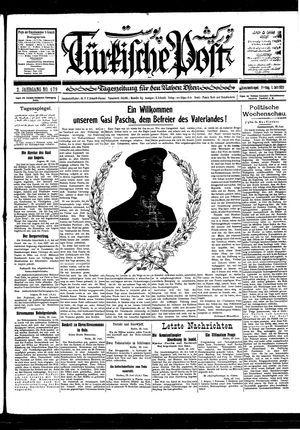 Türkische Post vom 01.07.1927
