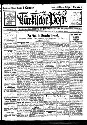 Türkische Post vom 02.07.1927