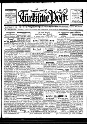 Türkische Post vom 04.07.1927