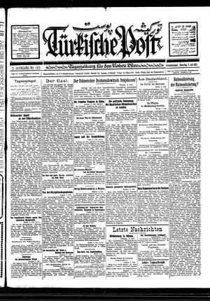 Türkische Post vom 05.07.1927