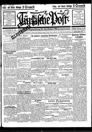 Türkische Post vom 07.07.1927