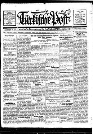 Türkische Post vom 08.07.1927