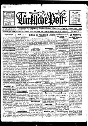 Türkische Post vom 09.07.1927