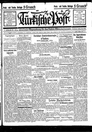 Türkische Post vom 10.07.1927