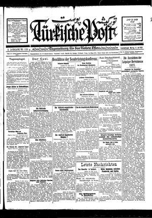 Türkische Post vom 11.07.1927