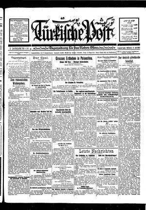 Türkische Post vom 13.07.1927