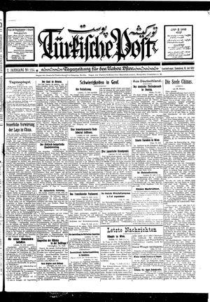 Türkische Post on Jul 16, 1927
